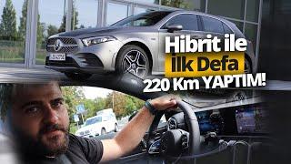 Hibrit Mercedes Benz A250e'yi Almanya'da kullandık!