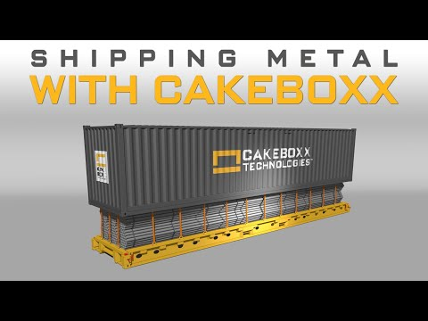 Shipping Metal with CakeBoxx