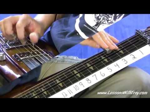 SHUFFLE BLUES - Lap Steel Lessons in Open D Tuning