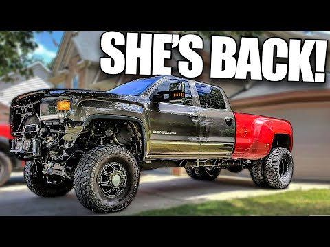 THE DUALLY IS HOME FOR GOOD!!!