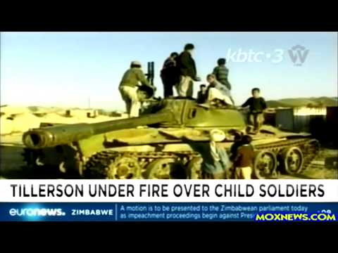 Secretary Of State Tillerson Removing Countries From CHILD SOLDIER LIST To Sell Them Weapons!