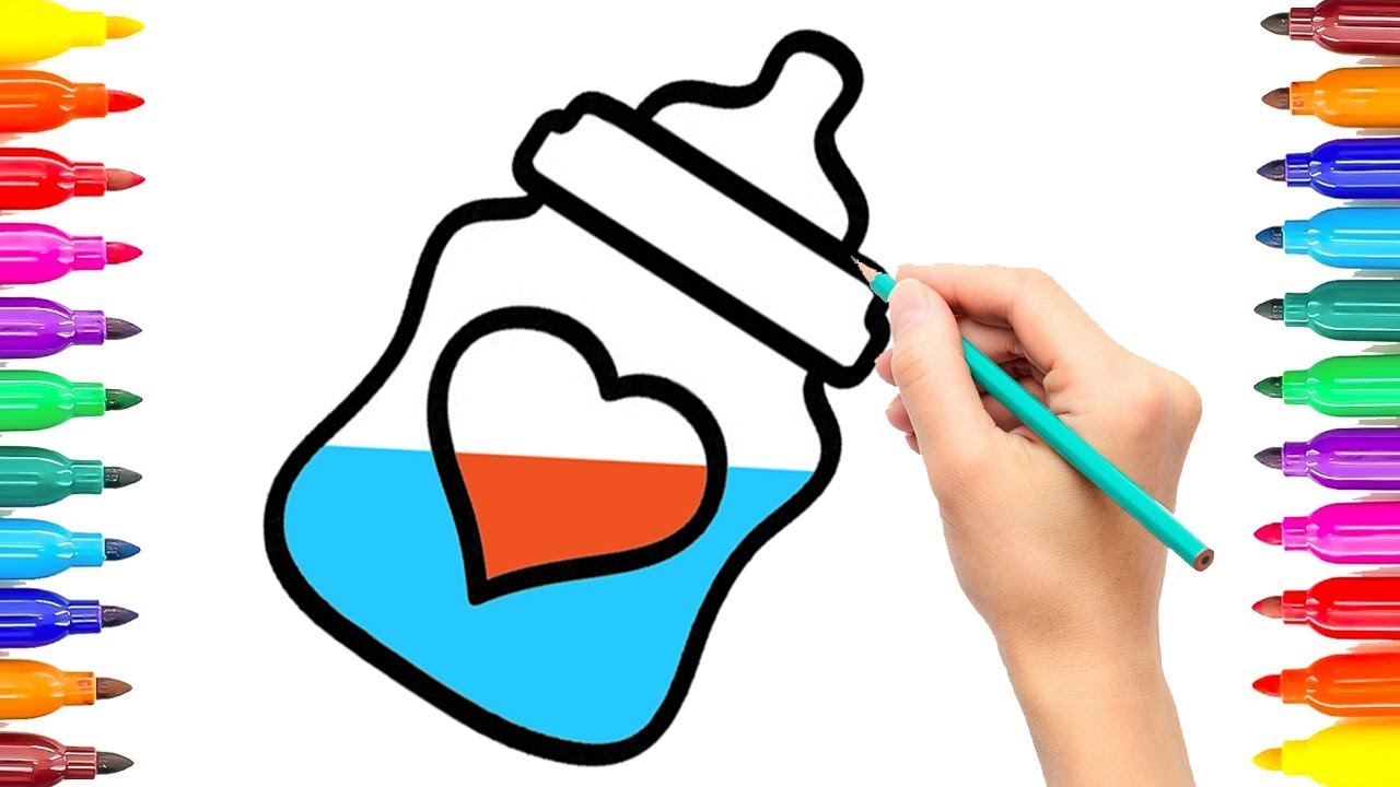 Draw Baby Accessories Coloring Pages How to Draw Baby ...