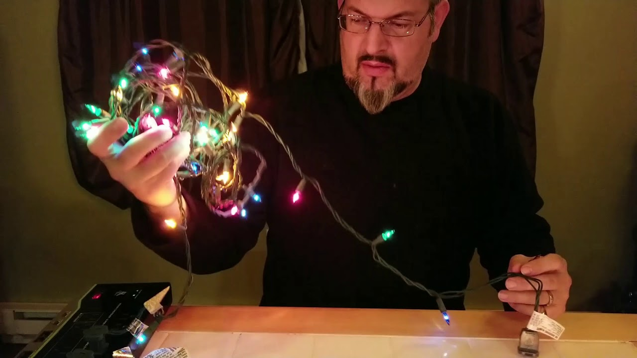 How To Find Bad Bulb In Christmas Lights.Christmas Light String Repair Fast Easy Find Bad Bulbs Fix Xmas Strings Save Time