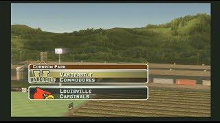 MVP 07 NCAA Baseball Vanderbilt vs Louisville 2019 Gameplay