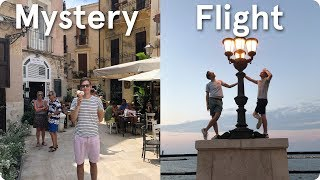 A Mystery Flight to Bari, Italy!