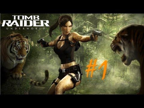 Прохождение Tomb Raider Underworld / без комментариев