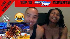 Top 10 SmackDown LIVE moments: WWE Top 10, August 7, 2018 REACTION