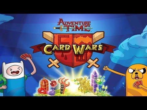 Adventure Time Card Wars - Universal - HD Gameplay Trailer