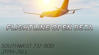 Novo Flightline Open Beta, vôo completo!   Flightline Open Beta, ROBLOX [1]