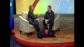Jake The Fire Dog Teaches Kids To Be Safe - 03-08-2013