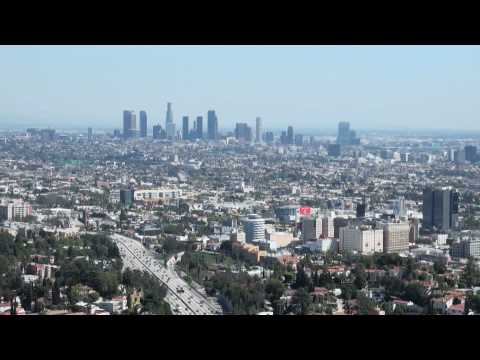L.A. Panorama from Mulholland Drive