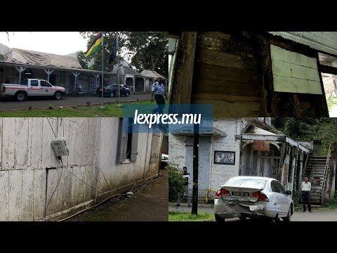Des policiers critiquent l'état lamentable du poste de Moka