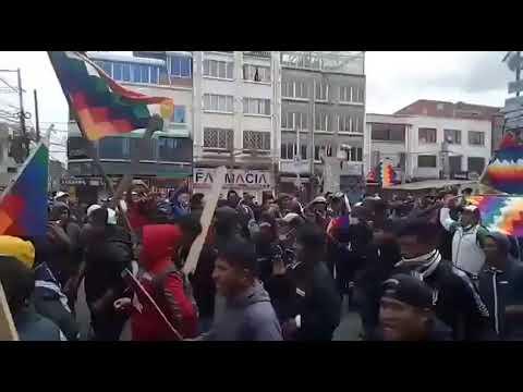 Campesinos llegan a El Alto