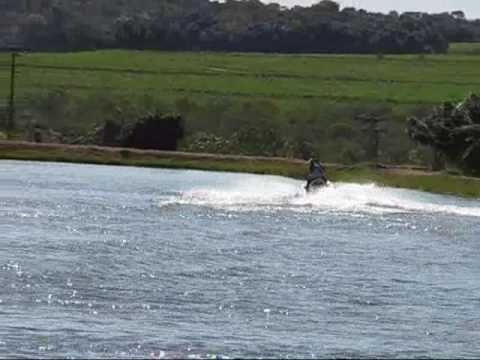 Nati Torres no jet ski