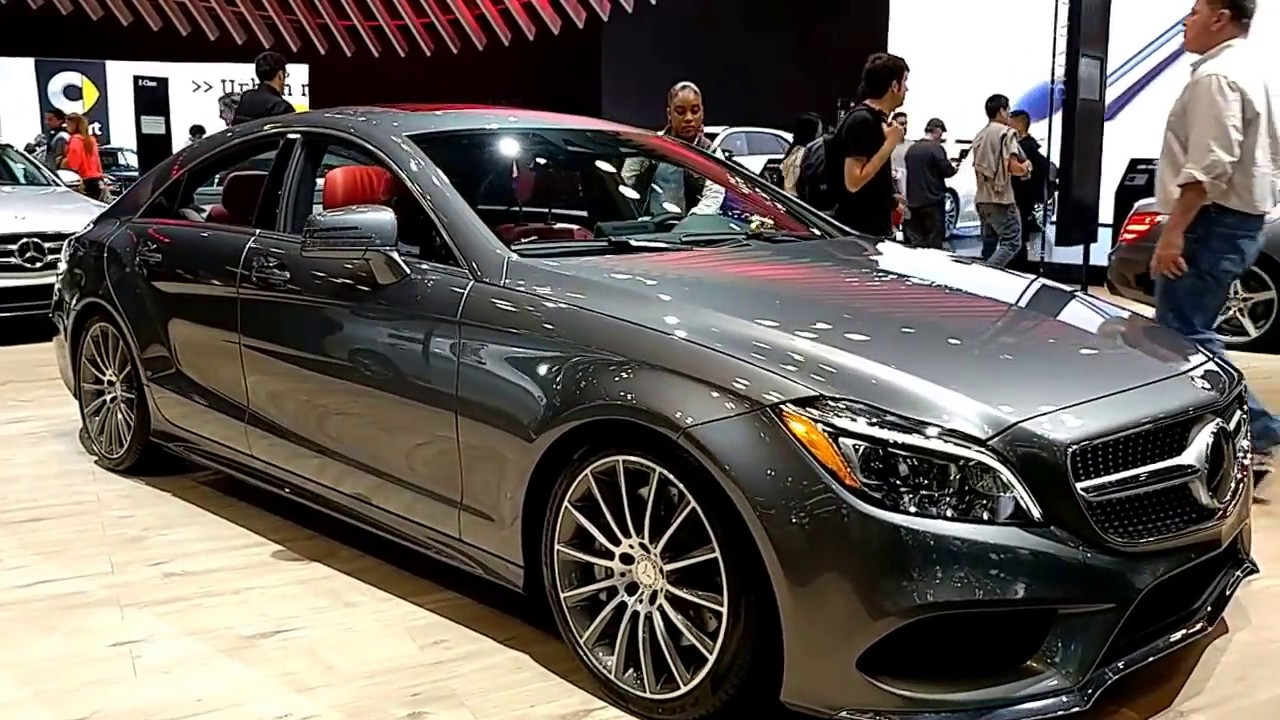 2017 Mercedes Benz Cls 550 4 Matic Coupe New York International Auto Show