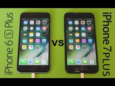 innovative design baa10 7f2a8 iPhone 7 Plus VS iPhone 6s Plus SPEED TEST!