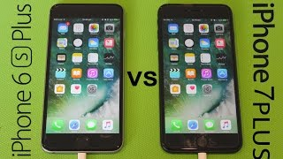 iPhone 7 Plus VS iPhone 6s Plus SPEED TEST!