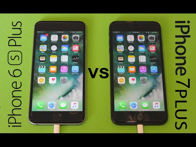 wholesale dealer 62e28 fac06 iPhone 7 Plus vs. iPhone 6s Plus Speed Test Video Shows How They ...
