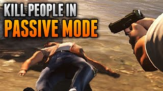 GTA 5 Glitches - How To Kill People in Passive Mode! - GTA 5 Online Secret Tricks