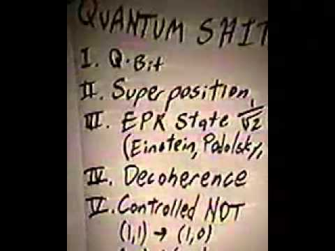 DEF CON 8 - Jon Erickson - Number Theory Complexity, Theory, Cryptography, and Quantum Computing.