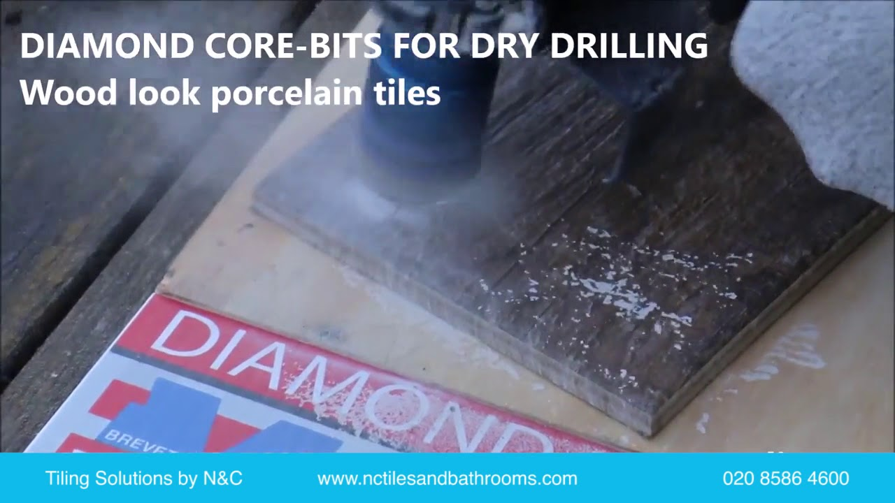 How To Drill Or Cut Holes In Porcelain And Stone Tiles