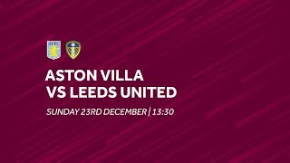 Aston Villa 2-3 Leeds United | Extended highlights