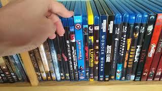VIDEO EXTRA - La Mia Intera Collezione di Dvd e Blu-ray (Agosto 2018)