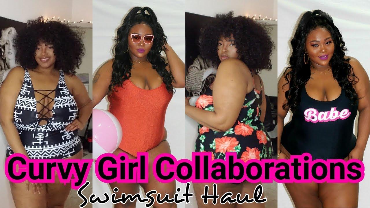 8babda59b95 Shein Plus Size Swimsuit Try on Haul Ft. Glamnefercent - YouTube