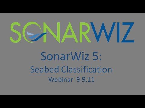 SonarWiz 5: Seabed Classification Webinar 9.9.11