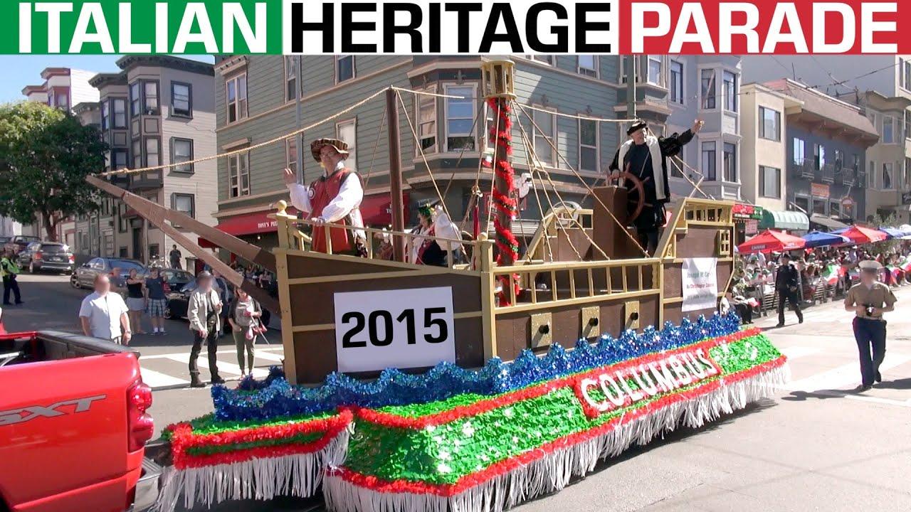 147th Annual Italian Heritage Parade 2015 North Beach San Francisco