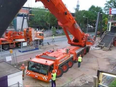 500 ton's kraan