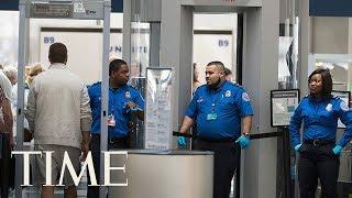 A Passenger Got A Gun On Board An Airplane, TSA Says it Wasn't Because Of The Shutdown   TIME
