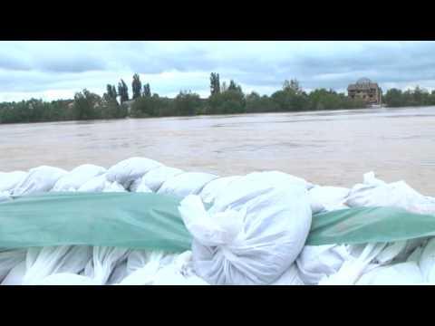Srbija poplave, Sremska Mitrovica