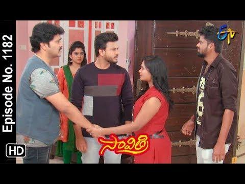 Savithri | 17th January 2019 | Full Episode No 1182 | ETV Telugu