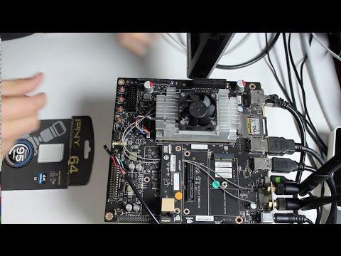 Run Jetson TX1 from SD Card - JetsonHacks
