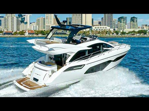 £1.4 Million Yacht Tour : Sunseeker Manhattan 55