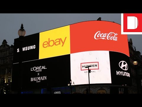 Piccadilly Circus Reveals Its New Lights | On The Scene