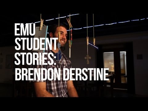EMU Student Story - EMU has given Brendon many opportunities to explore his faith