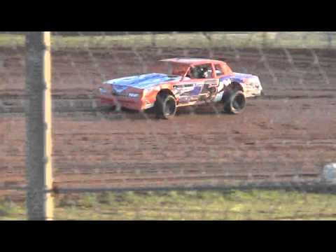 Ark La tex speedway factory stock hot laps with paul lopez