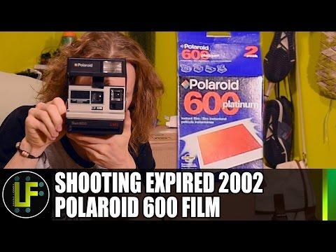 Shooting Expired 2002 Polaroid Film