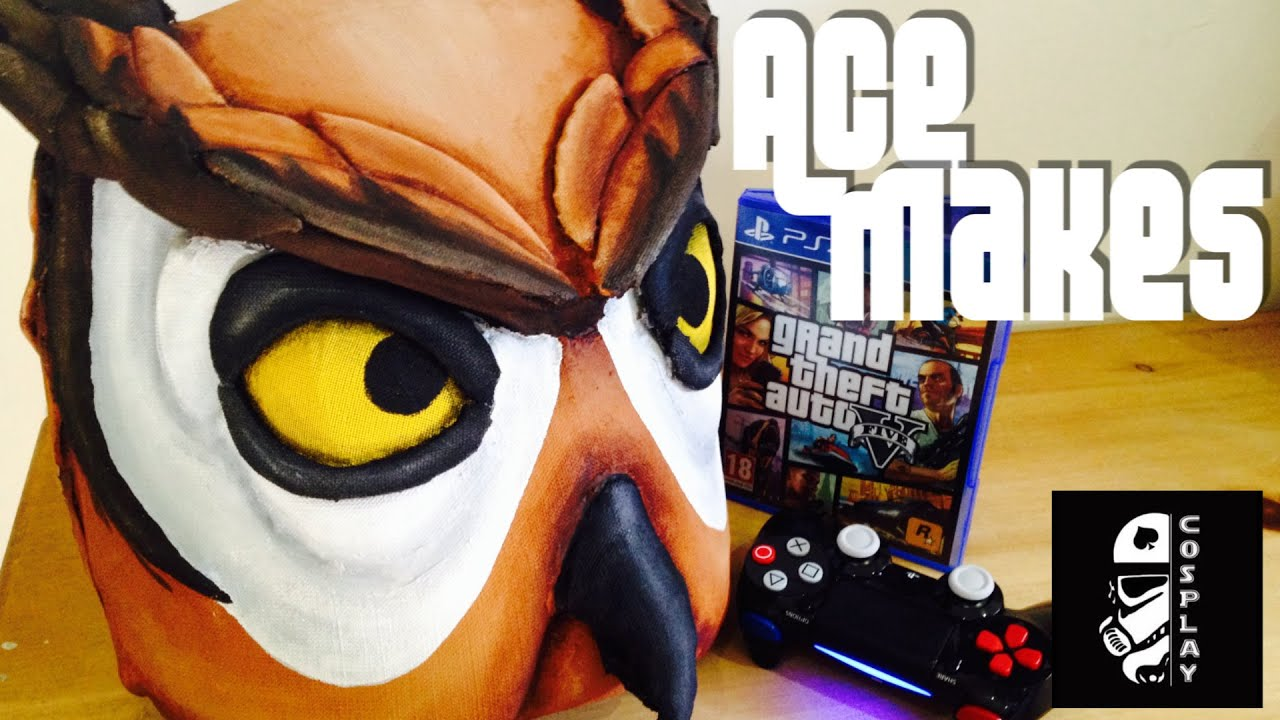 GTA 5 Owl Mask (Vanoss Gaming) - Ace Makes - YouTube