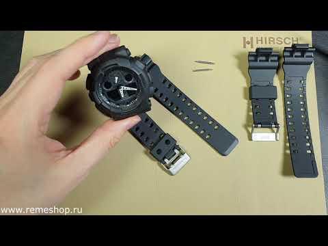 Как поменять ремешок на часах CASIO G-SHOCK, на примере модели GA-100, GA-110