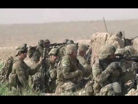 Intense Firefight Between Army Company And Taliban Insurgents - Combat Footage