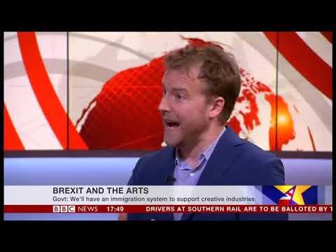 BBC   19 Oct 2017  Creative Industries Federation  Sam West