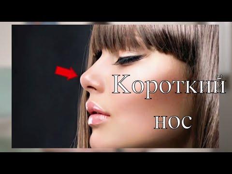 Курносый нос // Вздернутый нос