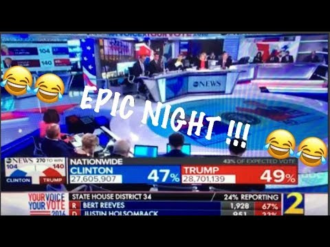 Thumbnail: The moment ABC NEWS realizes Donald Trump has WON THE ELECTION!!