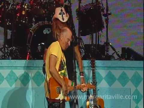 Bret Michaels on Stage with Jimmy Buffett