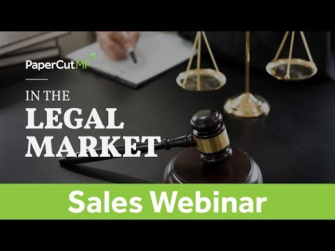 Client Billing & PaperCut MF in the Legal Market