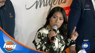 ¡Yalitza Aparicio causa revuelo en su visita a la ciudad de México! | Hoy