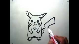 How to Draw Pikachu (Cara Menggambar Pikachu)